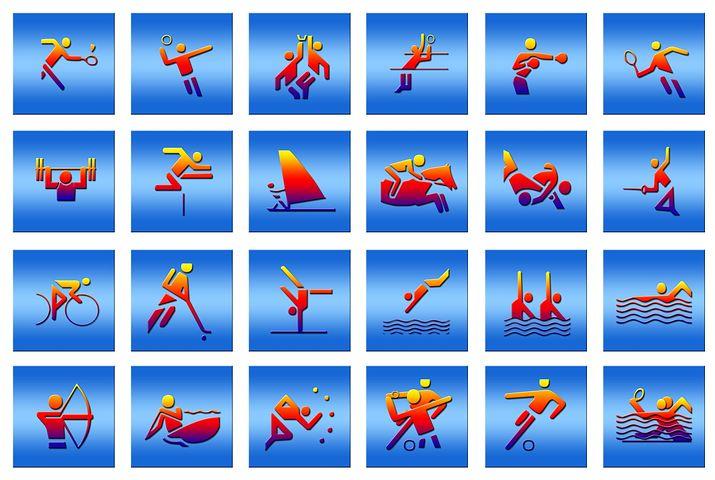 спортивные картинки по видам спорта благодаря имеющемуся таланту