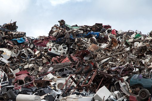 Scrapyard, Recycling, Dump, Garbage