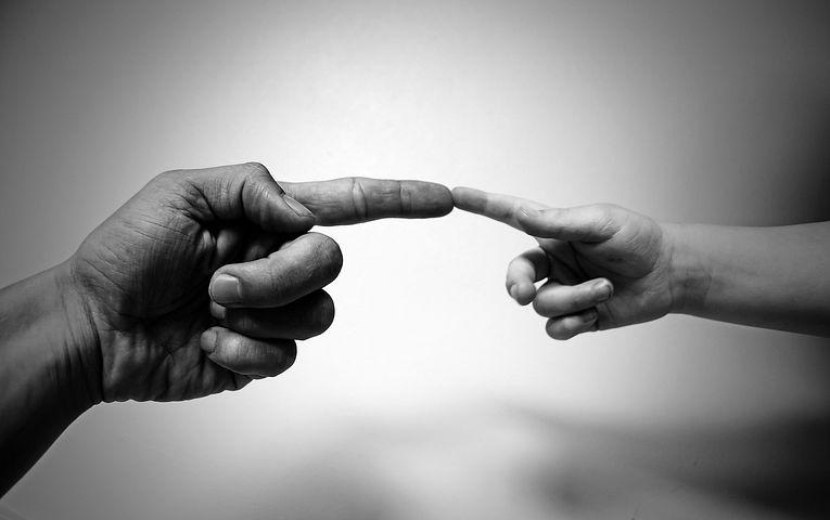 指を揃える, 人差し指, 手, 指, 子, 大人, ジェスチャ, 人間, タッチ アインの集客マーケティングブログ