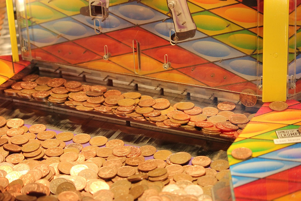 Coin Drop Machine Arcade Money - Free photo on Pixabay