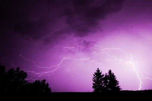Καταιγίδα, ΚεÏαυνό, ΣÏννεφα, Κίνδυνο