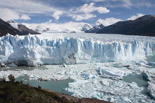 Argentina, Glacier, Ice, Glacier Ice