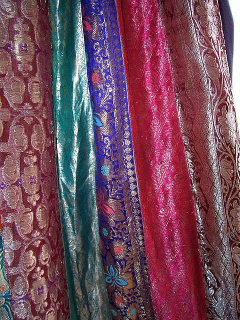 Free Photo Sari Fabric Drapes Curtain Free Image On