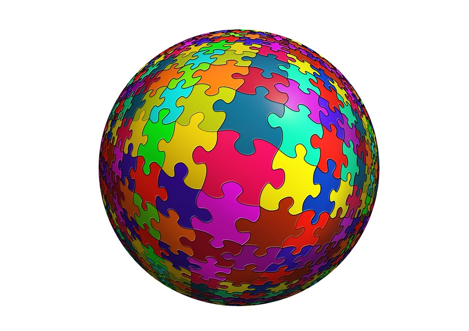 Free Illustration Ball Puzzle Pieces Of The Puzzle