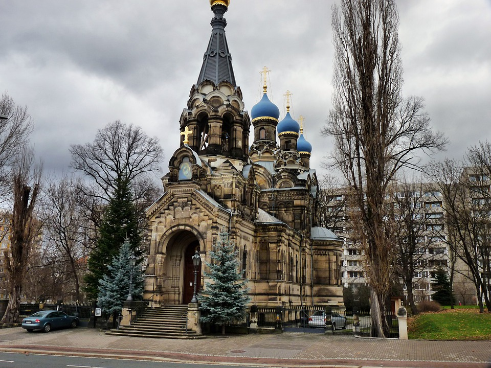 Russian Orthodox Church In Dresden Free Photo On Pixabay