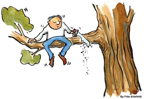 Branch, Change, Businessman, Man, People