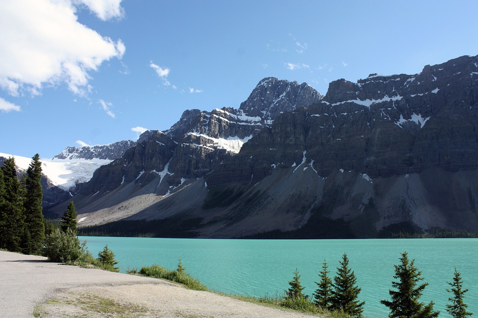 Free Photo Bow Lake Jasper Banff Free Image On
