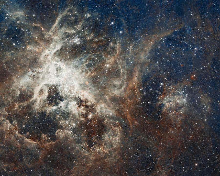 天の川, 星雲, 銀河, 星, タランチュラ星雲, 30 Doradus, Ngc 2070, 放出星雲