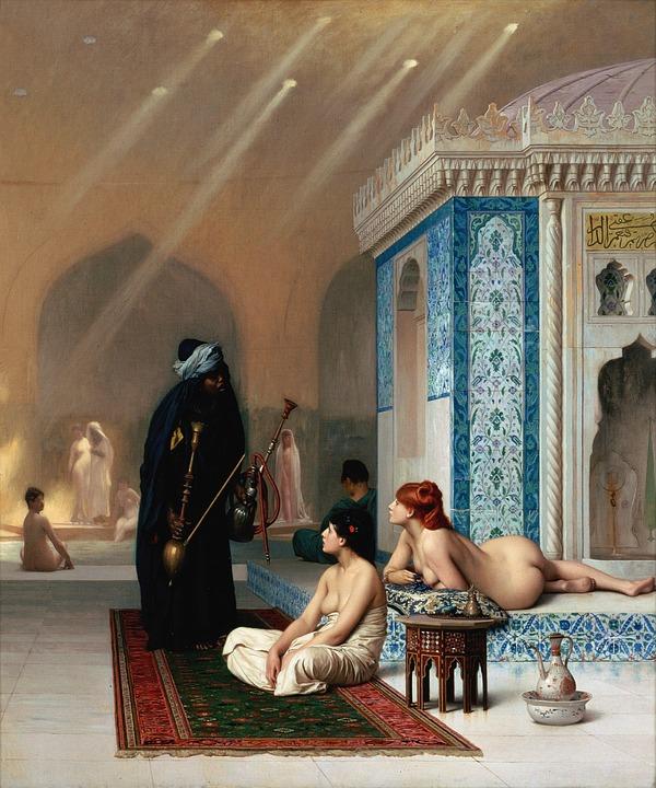 Naked harem arabian sex — img 1