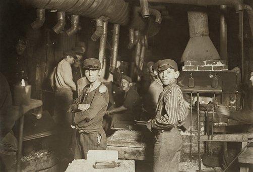Trabajo Infantil Los Niños Industria Traba