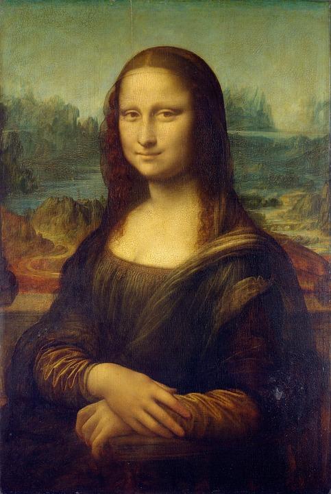 Sztuka, Malarstwo, Mona Lisa, Klasyczny, Kobieta