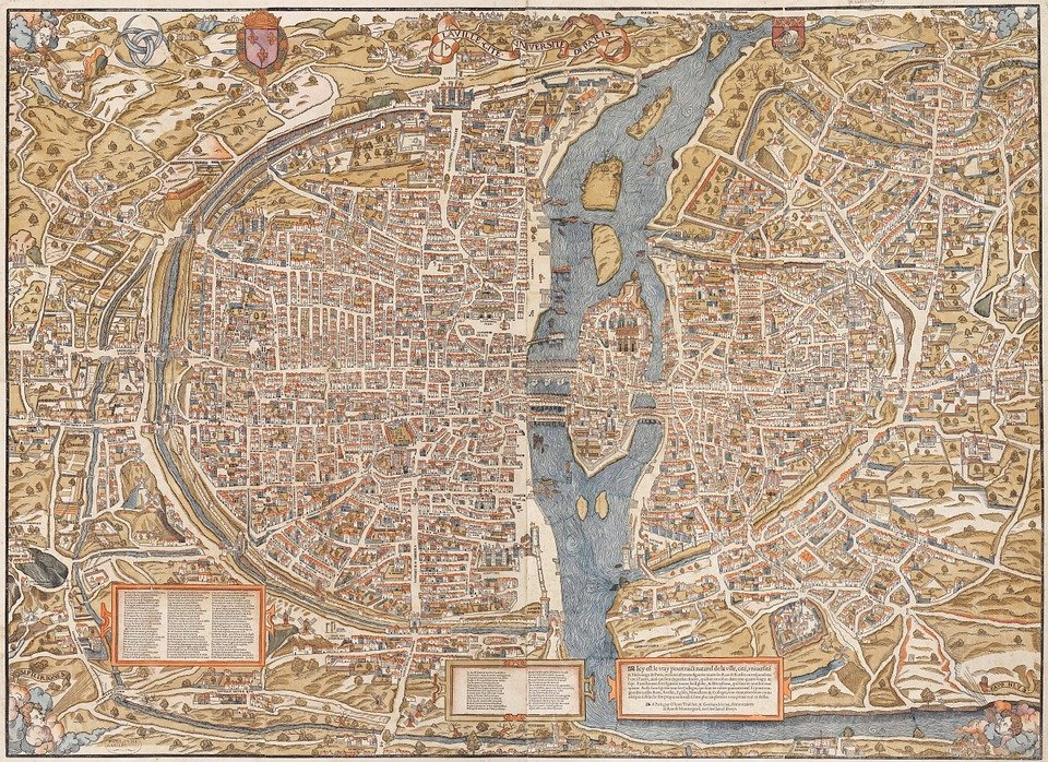 Karte Paris Stadtplan.Paris Stadt Stadtplan Kostenloses Bild Auf Pixabay
