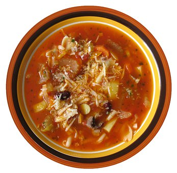 Minestrone, Soup, Vegetable Soup