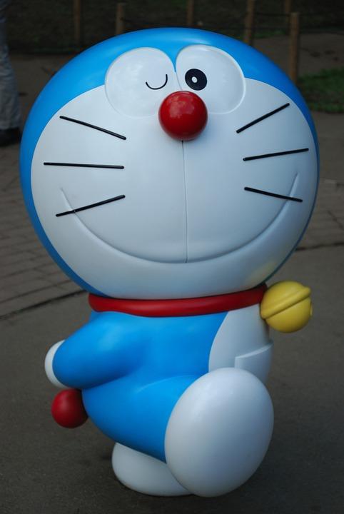 ドラえもん, Dorachan, キャラクター, 日本, 猫, シンボル