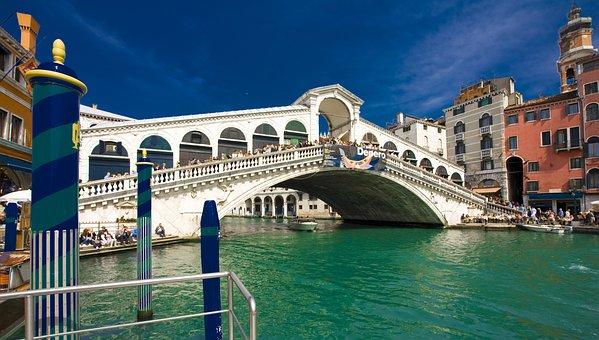 Italy Venice Rialto Bridge Venice Venice R