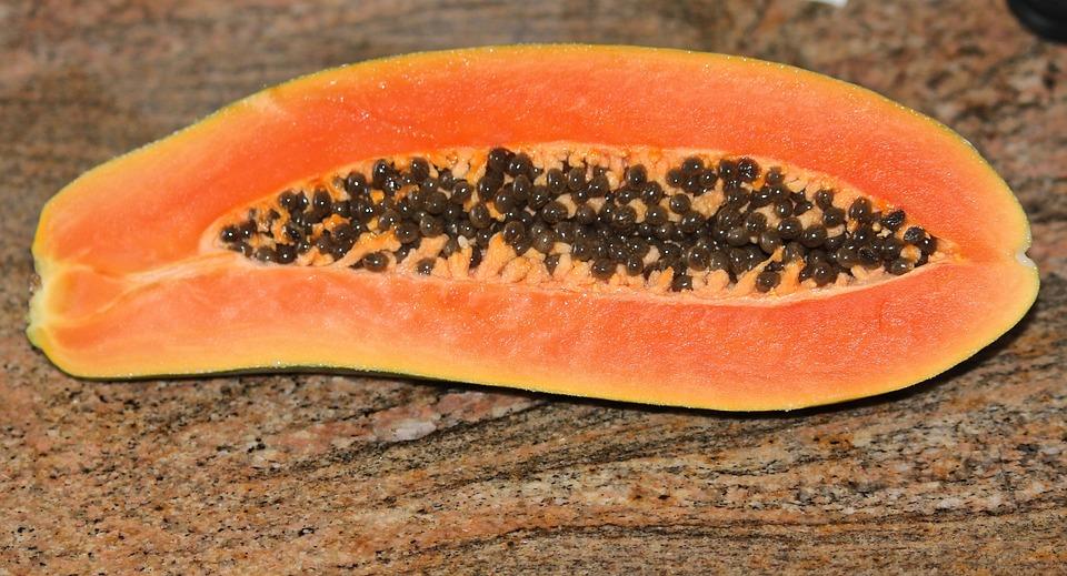 Papaya, Frutas Tropicales, Exóticas, Sweet, Jugosas
