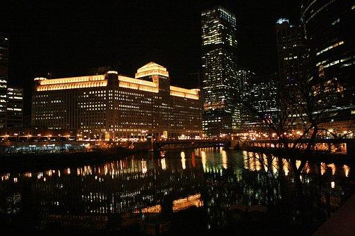 Chicago, Chicago At Night, Night