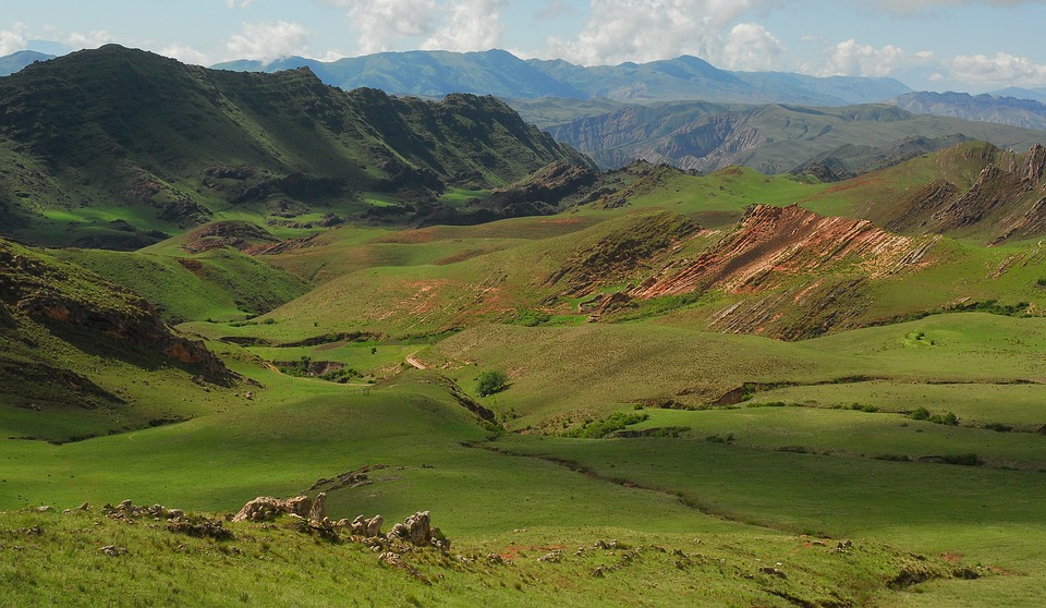 Free photo: Andean Landscape, Green, Mountain - Free Image