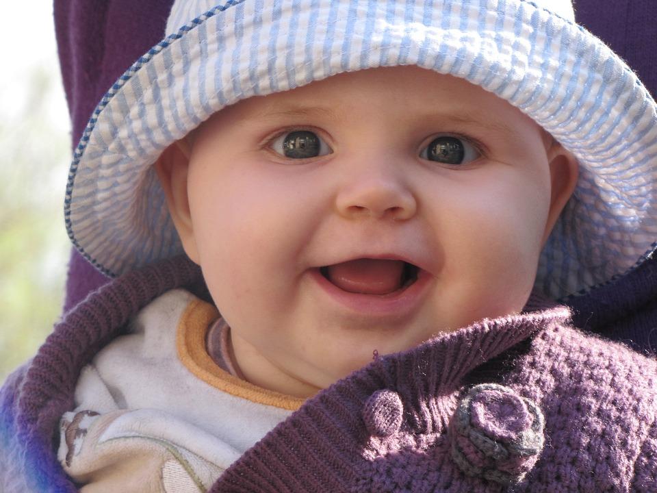 Baby Child Girl Blue · Free photo on Pixabay