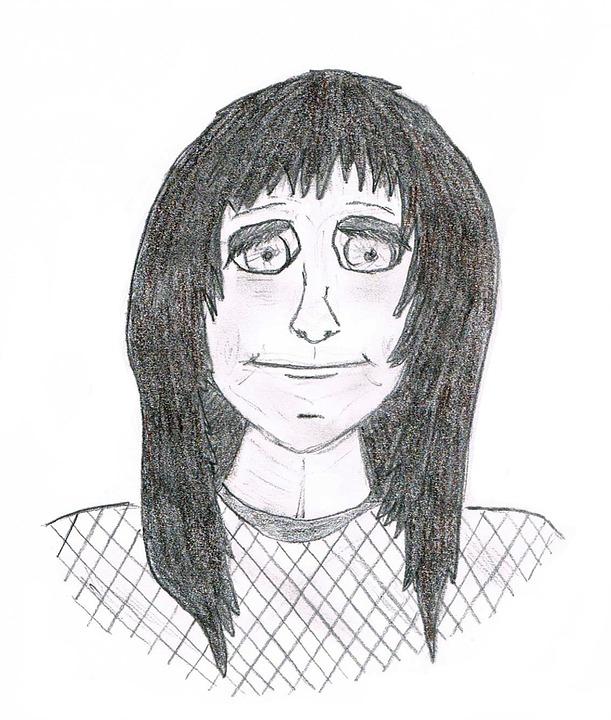 çizim Boyama Kız Pixabayde ücretsiz Resim
