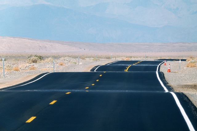 Free photo: Paved Road, Death Valley - Free Image on Pixabay - 76490