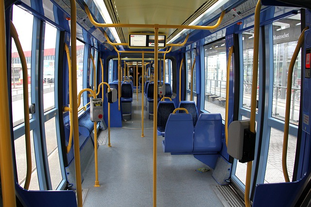 Free photo bus inside interior seats free image on for Auto interieur reinigen eindhoven