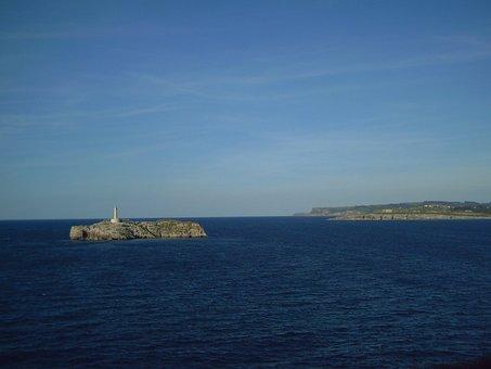 Qué ver qué hacer en Cantabria, Vista de Isla de Mouro Santander