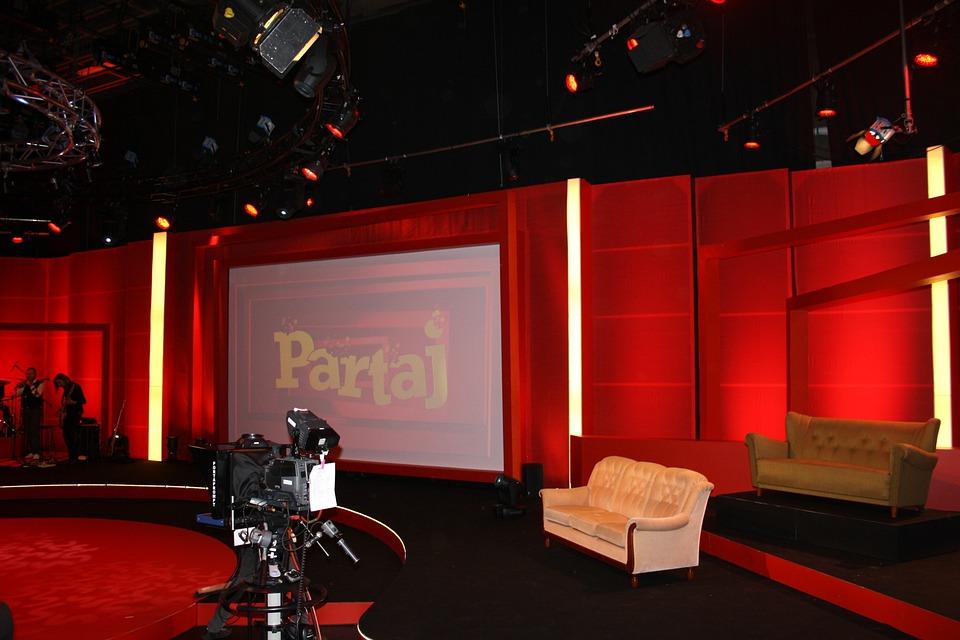 Sweden, Television, Studio, Set, Soundstage, Stage