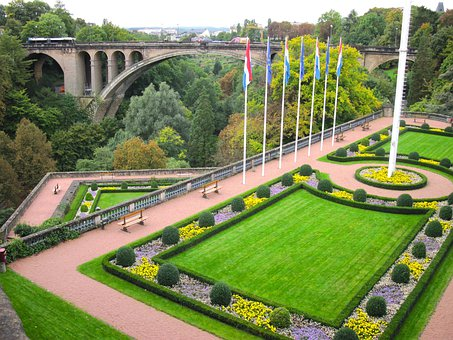 Luxembourg, Grounds, Plants, Flowers