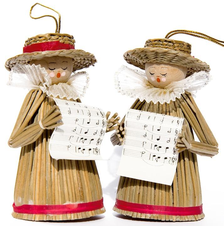 Christmas Carol Singers Decorations: Free Photo: Carol Singers, Decoration, Singers