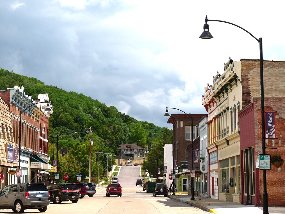 Free Photo Wisconsin Town Downtown Free Image On