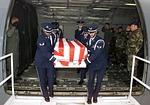 us air force, casket, returning