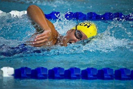Natación, Nadador, Mujeres, Carrera