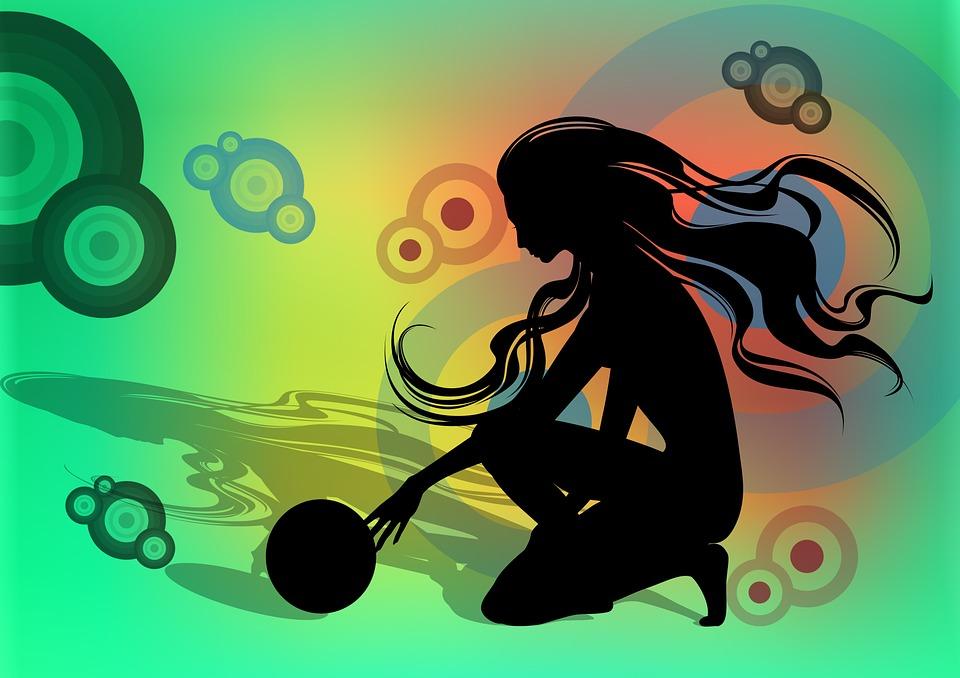 Free Illustration Rhythm Rhythmical Gymnastics Free