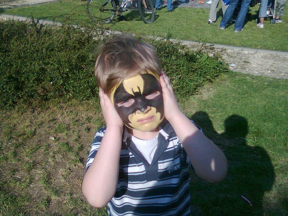 Maske Yüz Boya Batman Pixabayde ücretsiz Fotoğraf