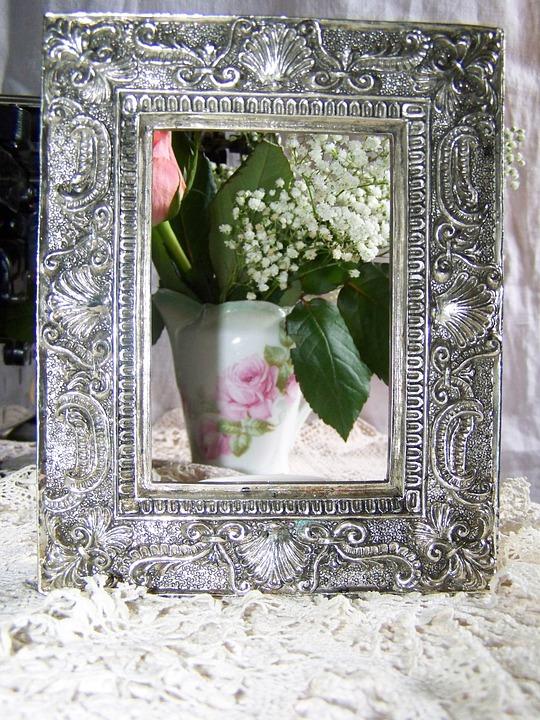 Utrolig Bilderamme Sølv - Gratis foto på Pixabay YX-87