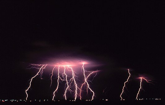 Norman, Oklahoma, Lightning, Dangerous