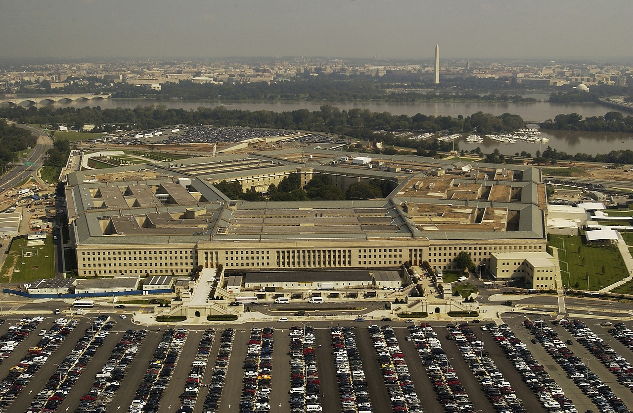 The Pentagon has twice as many restrooms as necessary. When it was built, segregation was still in place in Virginia, so separate restrooms for blacks and whites were required by law.