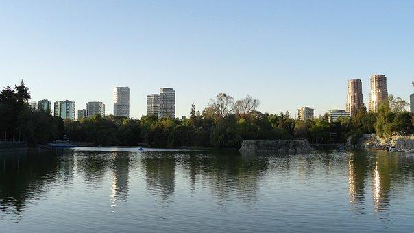 Los Bosques de Chapultepec, laguna