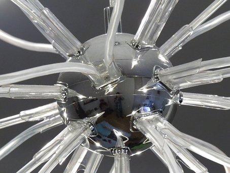 Metal Ball, Lamp, Modern, Lighting