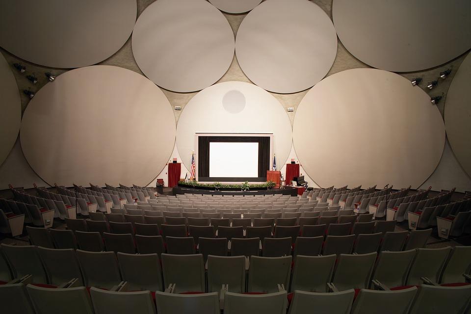 Cia, Langley, Virginie, Auditorium, Intérieur, Sièges