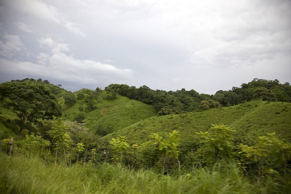 Panama, Paysage, Ciel, Nuages, Collines, Des Forêts
