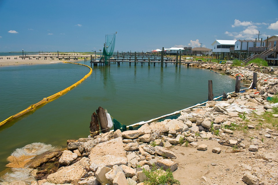 oil spill environment