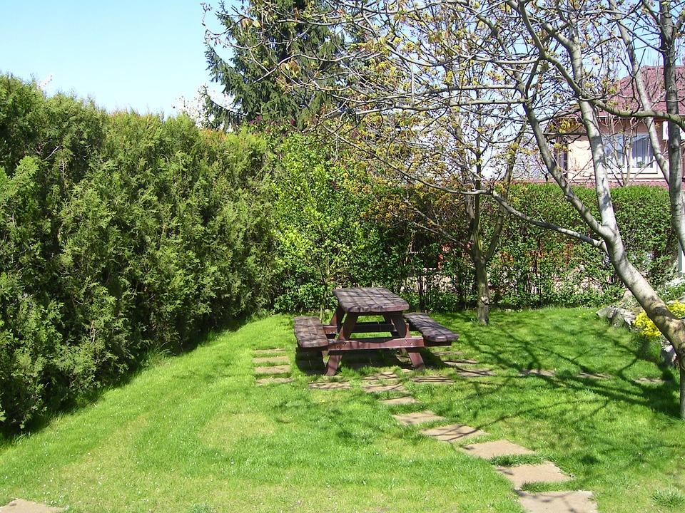 무료 사진: 정원, 피크닉 테이블, 겨울, 나머지 정원, 정원 벤치 ...