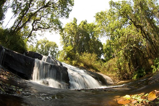 Malawi Nature Outside Landscape Waterfall