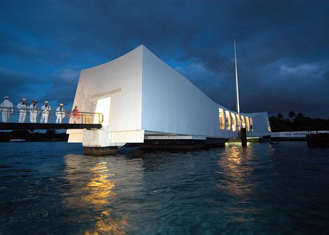 Pearl Harbor, Hawaii, Evening, Dusk