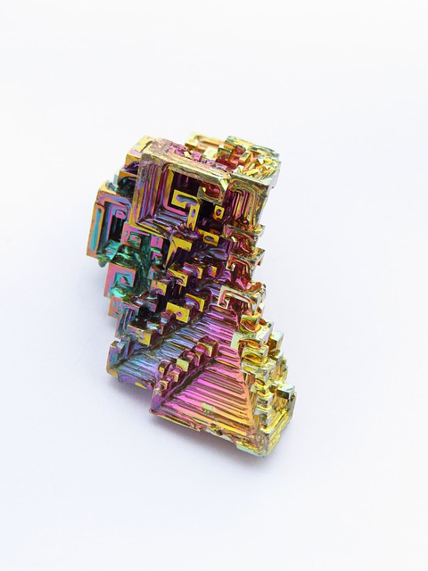 Mineral Iridescent Bismuth · Free photo on Pixabay