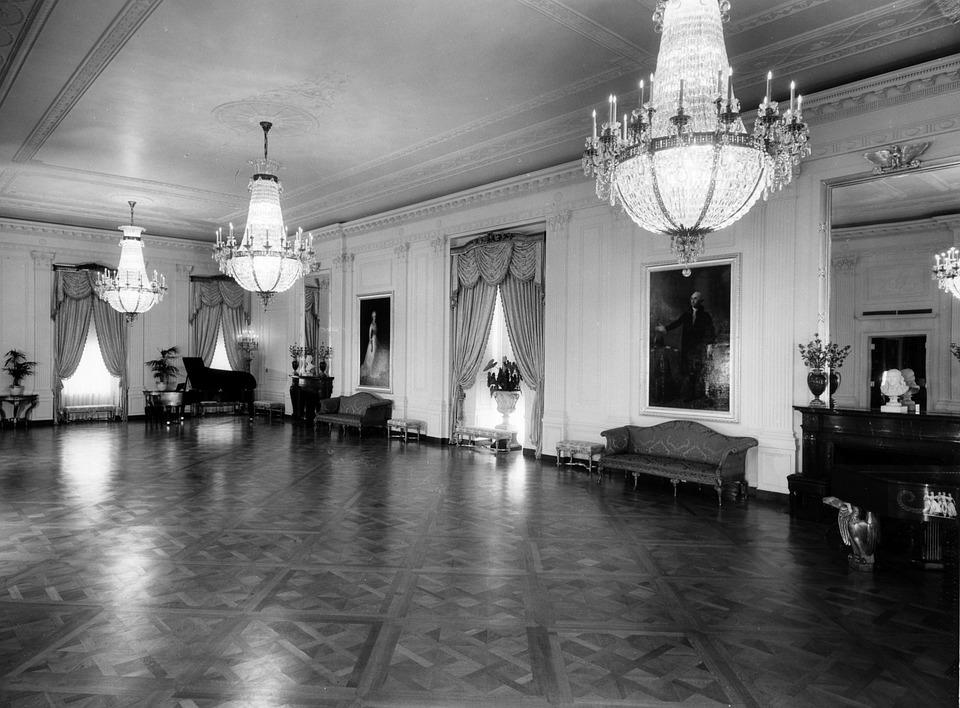 Kostenloses Foto: Das Weiße Haus, Schwarz Und Weiß - Kostenloses ...