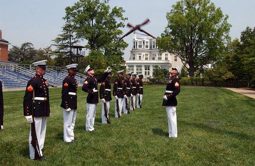 Washington Dc Marine Corps Marines Drill T