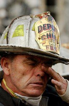 Fireman, Fire, Firefighter, 9 11